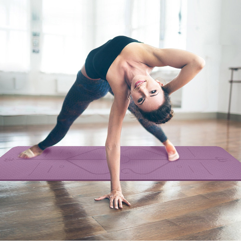 Yoga Matte Übung Sport Matten Gmy Fitness Gym Umwelt Geschmacklos yoga Pad