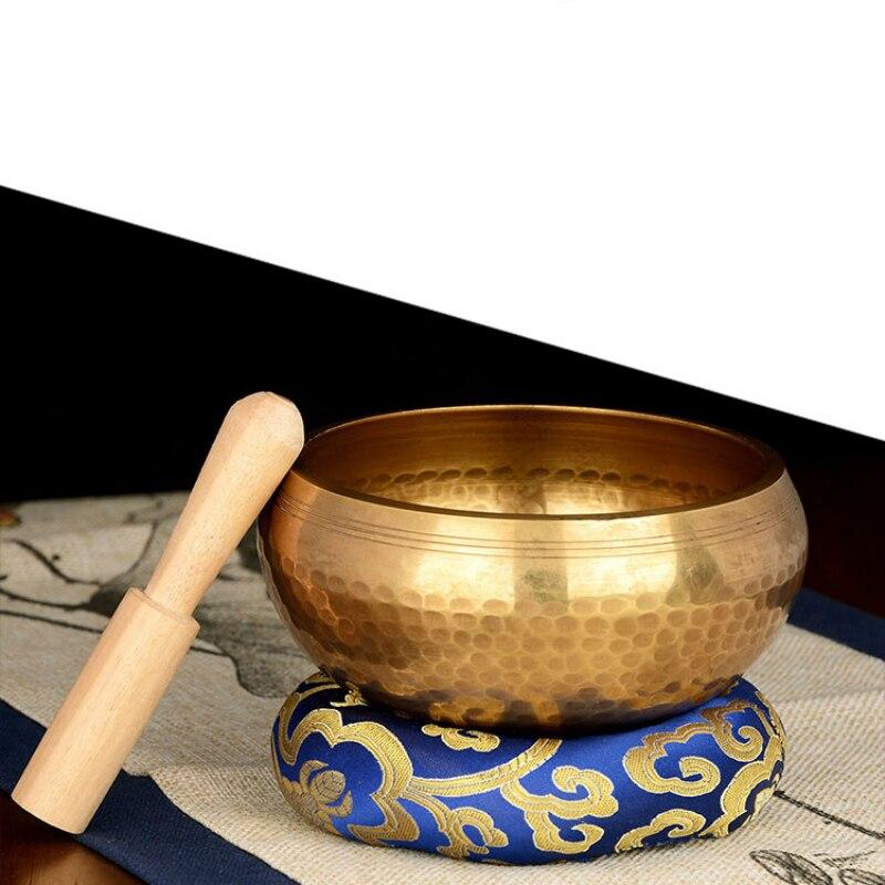 Buddhistische Klangschale Handgefertigt aus Nepal