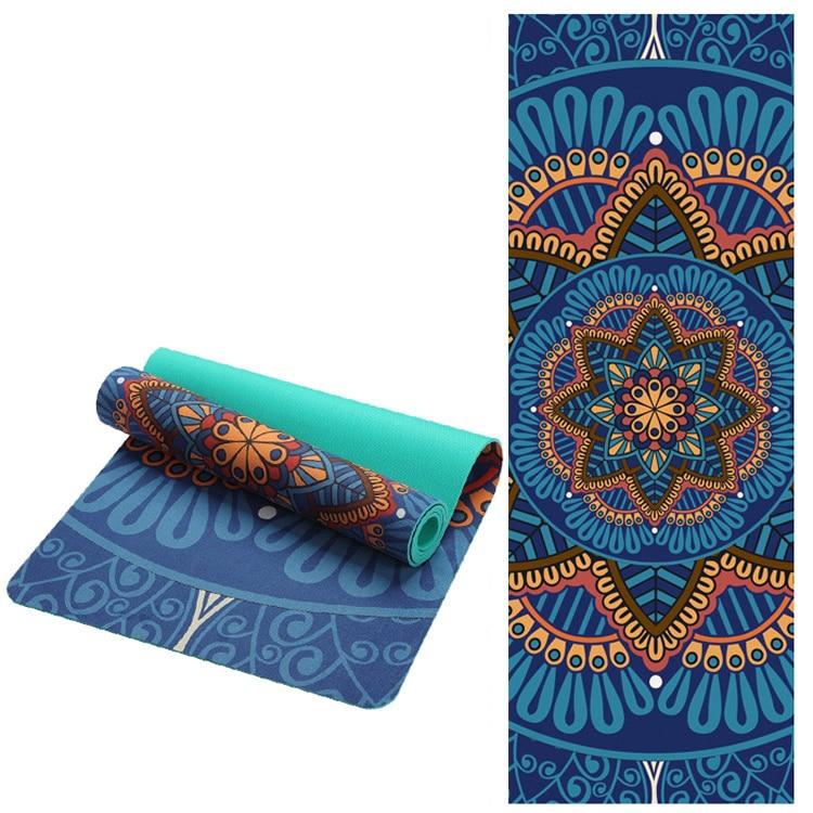 TPE Yogamatte Lotus